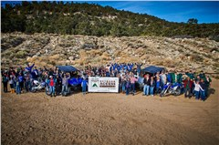 Yamaha Employees Celebrate 10 Years of Off-Road Volunteer Support