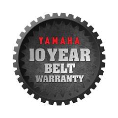 Yamaha Announces 10-Year Belt Warranty